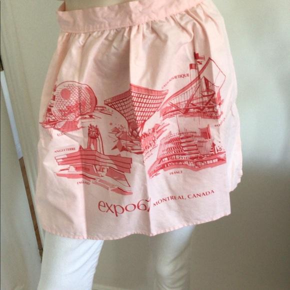Vintage Expo '67 apron